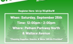 Green Day of Action at Pelham Parkway, September 25th