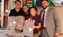 Backpack Giveaway at Bronx Muslim Center