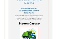 Pelham Parkway Neighborhood Association presents our October 2021 meeting!